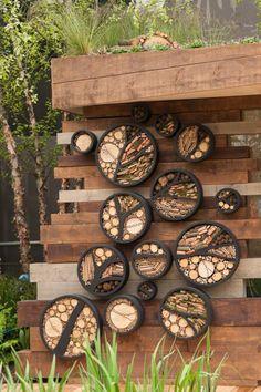 in the garden. great idea