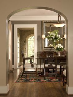 """paint colors: """"living room: benjamin moore, mesa verde tan ac-33"""