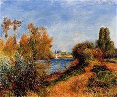 The Seine at Argenteuil - Pierre-Auguste Renoir