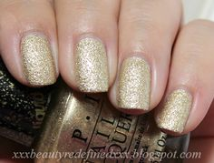 OPI Liquid Sand Honey Ryder
