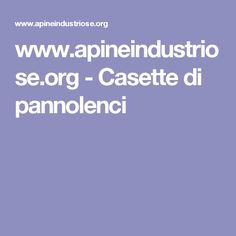 www.apineindustriose.org - Casette di pannolenci