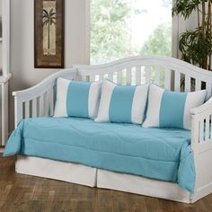 Cabana Turquoise 5-piece Daybed Set | Overstock.com Shopping - The Best Deals on Daybed Covers