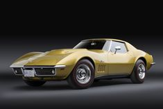 1969 Stingray L88 427/430 HP Sport Coupe #chevroletcorvette1969