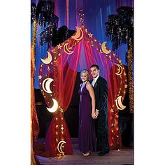 This Treasure the Night Arch makes a perfect entrance or photo op for any Arabian themed event.