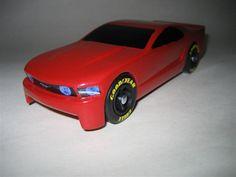 Pinewood Derby Winning Cars | Mustang pinewood racer kit