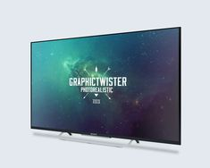 Free Mockup TV (60.8 MB) | graphictwister.com | #free #mockup #photoshop