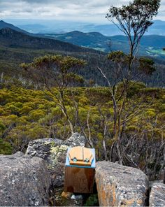 Este enorme banheiro na Tasmânia: