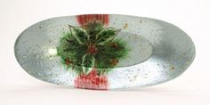 Holiday Gifts : Holly Berry Oval Plate