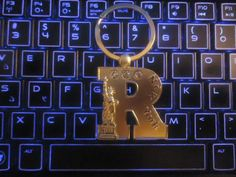 "New York ""Rrrrrrr"" for Ronnie ! keychain"
