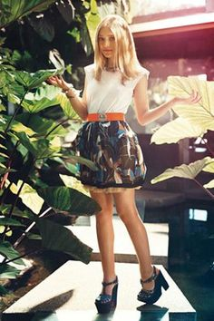 Dakota Fanning's Teen Vogue cover shoot, 2009