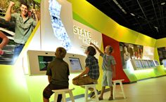 our work - West Office Exhibition Design - The California Museum