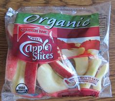 Costco organic apples slices are a perfect healthy snack that's super convenient.