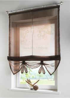 Find More Curtains Information about Beautiful sheer curtains for windows kitchen curtains roman blinds can lift screening balcony coffee curtain customize tulle,High Quality curtain cable,China curtain china Suppliers, Cheap curtain blind from J&X Home Texitile Factory (for customizing) on Aliexpress.com