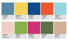 色彩學 – Pantone流行色報告, 2017年春季, 最流行色系 (via 網頁設計公司• Studio 2.5D 品牌顧問)