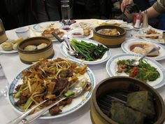 Dim sum at Great Eastern Restaurant in San Francisco one week after Obama was groped there!