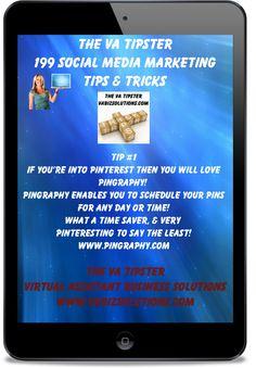 http://vabizsolutions.com/the-va-tipster-199-social-media-tips-tricks/  Tip #1