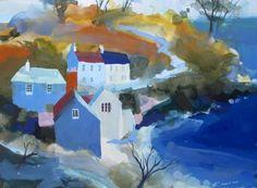 Old Schoolhouse Durgan - Richard Tuff - Beside the Wave