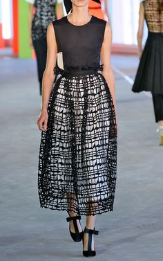 Apsley Top and Skirt by Roksanda Ilincic for Preorder on Moda Operandi