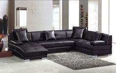 Encore Black Modern Leather Sectional Sofa by HiRise Furniture, http://www.amazon.com/dp/B0087HG65Q/ref=cm_sw_r_pi_dp_Cj7Qqb0RZK07M