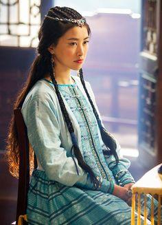 Zhu Zhu in 'Marco Polo' (2014).