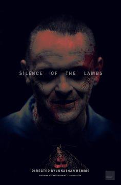Silence of the Lambs - movie poster - crqsf.deviantart.com