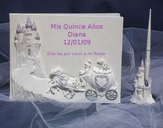 Decorations for a Quinceanera - Princess or Cinderella Theme Quinceanera - Mis… Cinderella Sweet 16, Cinderella Theme, Cinderella Wedding, Cinderella Carriage, Cinderella Quinceanera Themes, Quinceanera Decorations, Quinceanera Party, Sweet 16 Themes, Sweet 16 Decorations