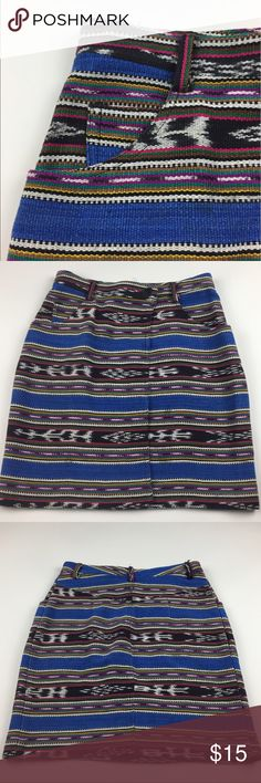 Central Falls Vintage Woven Skirt 🎶 This beautiful 100% cotton woven skirt by Central Falls is a must-have! This skirt would look great with a crop top or tucked in styles. Wear this to the next outdoor music festival. See photos for waist and length measurements. There is a tiny blemish when looking up close, see last photo. 🎶 Central Falls Skirts Pencil