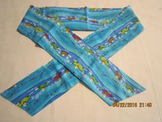"""Extra Wide 3"""" Reusable Non-Toxic Cool Wrap / Neck Cooler  - Kids Prints - Boys - Boys with Cars by ShawnasSpecialties on Etsy"""