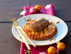 Tatin de mangue et foie grasVoir la recette de la Tatin de mangue et foie gras