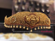 Antique Gold Plated Waist Belt Designs, Gold Plated Antique Ottiyanam Collections. Antique Jewellery Designs, Indian Jewellery Design, Indian Jewelry, Gold Waist Belt, Waist Belts, Wholesale Gold Jewelry, Gold Belts, White Gold Jewelry, Gold Plated Necklace
