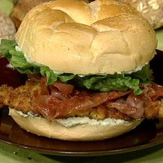 Nadia G.'s Saltimbocca Chicken Cutlet Sandwich - the chew - ABC.com
