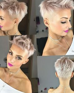Short Hairstyle 2018 Short Cuts in 2019 Very short hair, Short short hair styles for girls 2018 - Hair Style Girl Short Pixie Haircuts, Short Hairstyles For Women, Short Hair Cuts, Cool Hairstyles, Hairstyles 2018, Glamorous Hairstyles, Hairstyle Ideas, Short Hair For Girls, Short Undercut Hairstyles