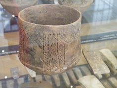 Neolithic bowl.Danish Nationalmuseet Kobenhavn