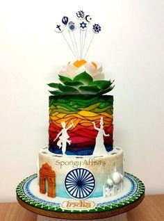 India' - Gold award@Cake International16 by Meenakshi Jamadagni