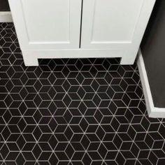 Merola Tile Metro Rhombus Matte Black 10-1/2 in. x 12-1/8 in. x 5 mm Porcelain Mosaic Tile FMTRHOMB at The Home Depot - Mobile