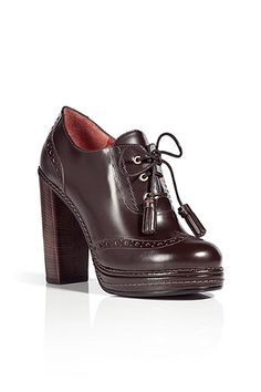 STYLEBOP.com   ChocolateBrownCalfLeatherBootiesbyMARCBYMARCJACOBS   the latest trends from the capitals of the world