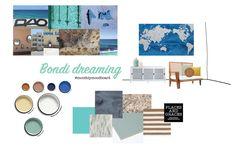 Places & Graces : Bondi Dreaming : our interior styling Mood Boards, Interior Styling, Places, Blog, Interior Decorating, Blogging, Lugares