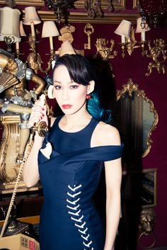 This DJ and street style star takes Tokyo with Dior. http://www.thecoveteur.com/mademoiselle-yulia/