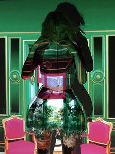MARY'S WONDERLAND | Lily Donaldson steps into the creative universe of Mary Katrantzou wearing AW11