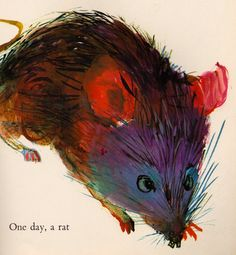 """From """"The Lion and the Rat"""" by Brian Wildsmith,1964"""