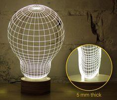 Optical Illusion 2D Lamp Looks Incredibly 3D - My Modern Metropolis