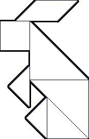 haas-tangram - thema lente/pasen - Lespakket
