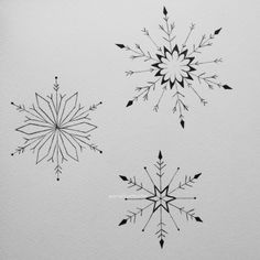 snowflake tattoo | Tumblr