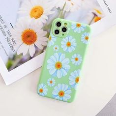 Vintage Flower Phone Case For iPhone 11 11 Pro Max XR X XS Max 7 8 Plus SE 2020 Soft Silicone Shockproof Back Cover With Lanyard