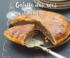 La galette des rois au chocolat, on en est complètement GAGA !