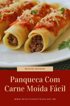 Best Dinner Recipes, Great Recipes, Brazillian Food, Good Food, Yummy Food, Health Dinner, Cooking Recipes, Healthy Recipes, Cook At Home