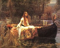 John William Waterhouse, Lady of Shalott