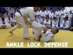 ANKLE LOCK: Escape with Professor Henry Matamoros