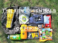From local day hikes to extended backpacking trips, everyone should carry the Ten Essentials while outdoors. Hiking Tips, Hiking Gear, Hiking Backpack, Go Camping, Camping Hacks, Emergency First Aid Kit, Backpacking South America, Hiking Essentials, Bushcraft Camping