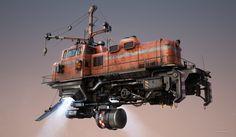 ArtStation - Freightliner, Tomi Väisänen